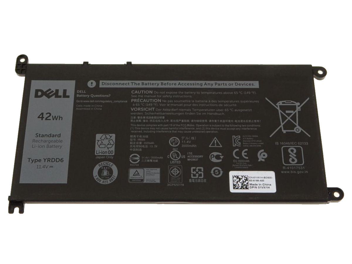 Оригинальная батарея Dell Inspiron 5770 5765 5767 - YRDD6 - (11.4V 42Wh 3500mAh) - Аккумулятор, АКБ