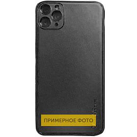 """Шкіряний чохол Xshield для Apple iPhone 11 (6.1 """"). Чорний / Black"""
