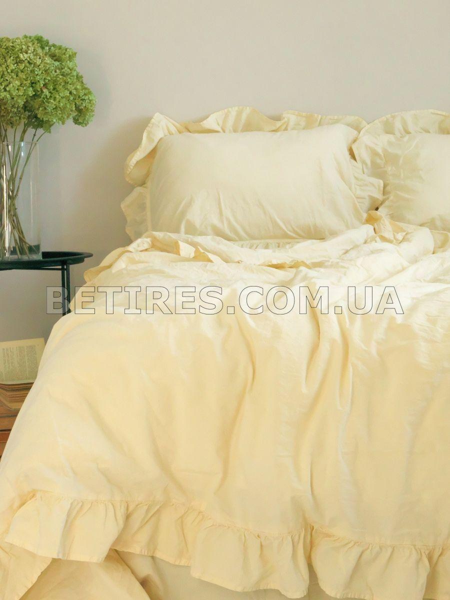 Комплект постельного белья 160x220 LIMASSO AKDENIZ KREM EXCLUSIVE кремовый