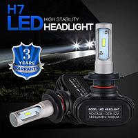 Светодиодные лампы для автомобиля HEADLIGHT LED S1-H7 с радиатором