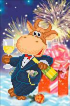 СД-305. Схема для вишивки бісером Багатого Нового року!