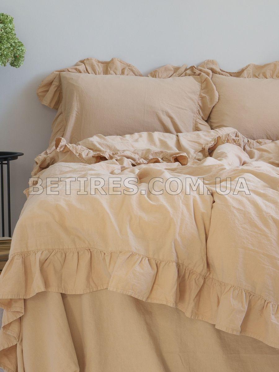 Комплект постельного белья 160x220 LIMASSO AKDENIZ BEJI EXCLUSIVE бежевый