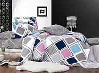 Полуторное постельное белье Бязь Голд