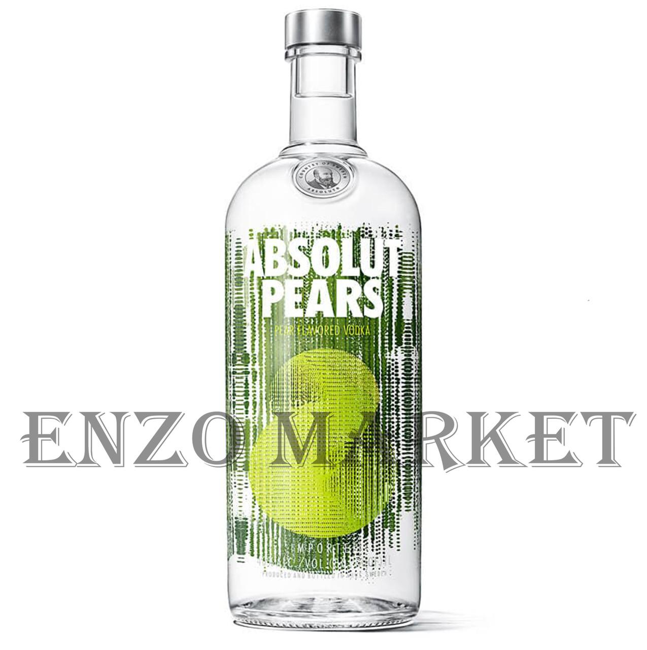 Водка Absolut Pears (Абсолют Груша) 40%, 1 литр