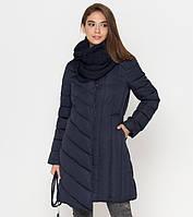 Женская куртка пуховик на зиму Tiger Force, синяя