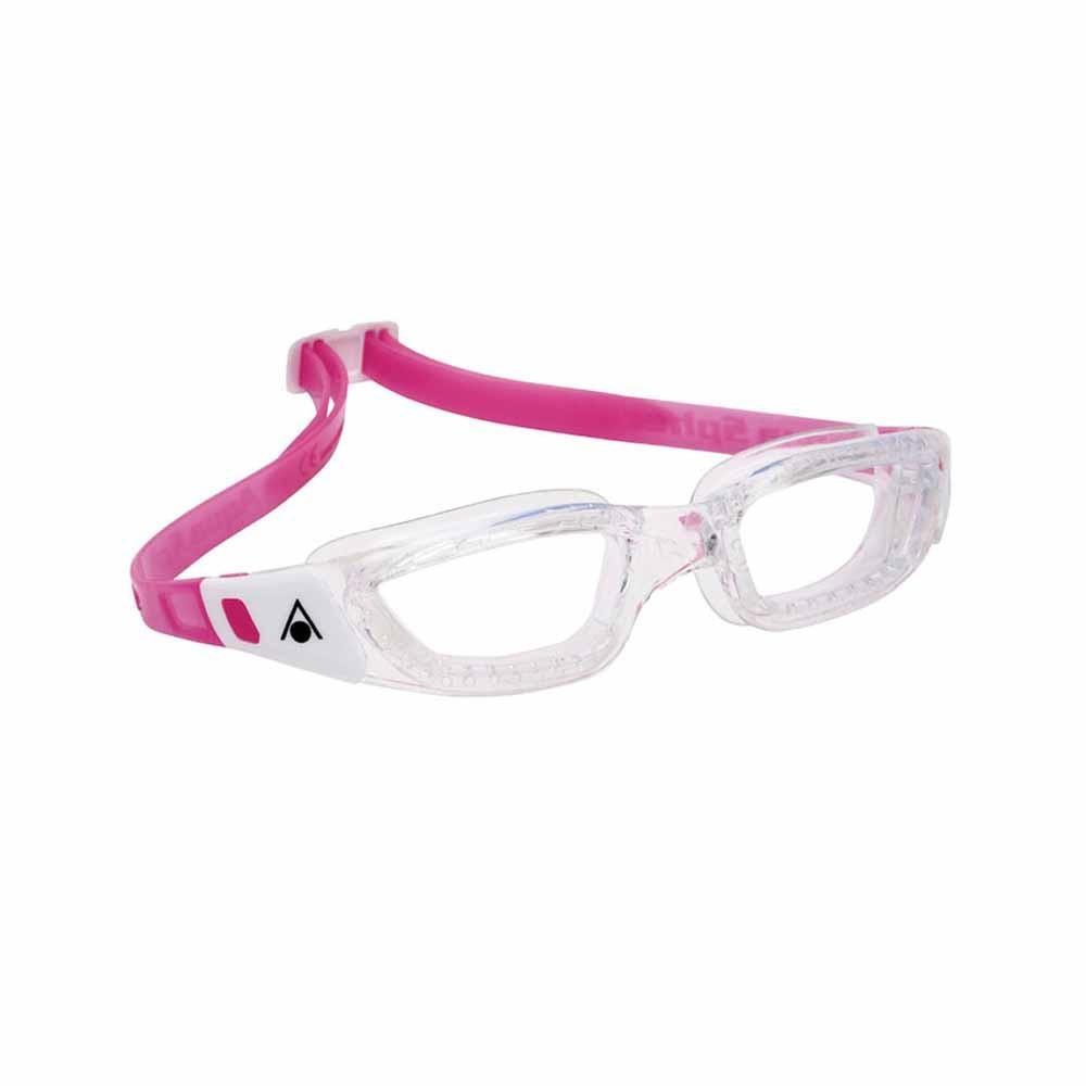 Очки для плавания Aqua Sphere KAMELEON JR (Прозрачно-белый, линзы прозрачные)