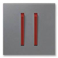 Клавиша 2-ная сталь/терракота ABB Elektro-Praha Neo (3559M-A00652 71)