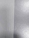 Обои бумажные VIP Полоса широкая серый с серебром 41203, фото 8