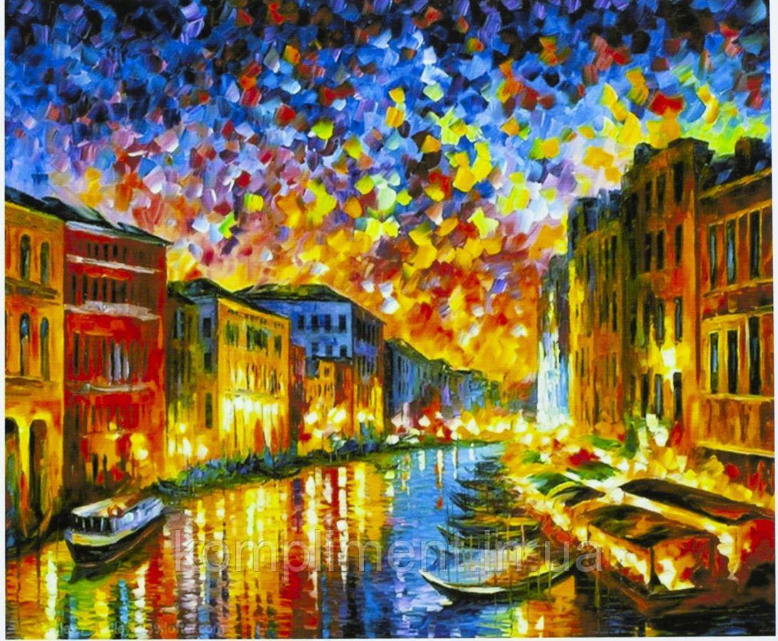 """Картина по номерам """"Венеция"""" 40*50 см, краски - акрил"""