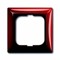 Рамка 1-ная красный-foyer ABB Busch Jaeger (2511-97-507)