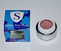 Гель моделирующий Salon Professional Fresh Gel Pink 15 мл, Цвет Камуфлирующий розовый