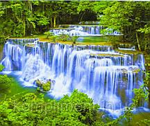 """Картина по номерам  """"Водопад"""" 40*50 см, краски - акрил"""