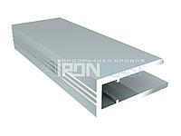 Профіль алюмінієвий торцевий АПТ - 6 мм