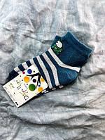 Носки детские лайкра изумрудные 14-16