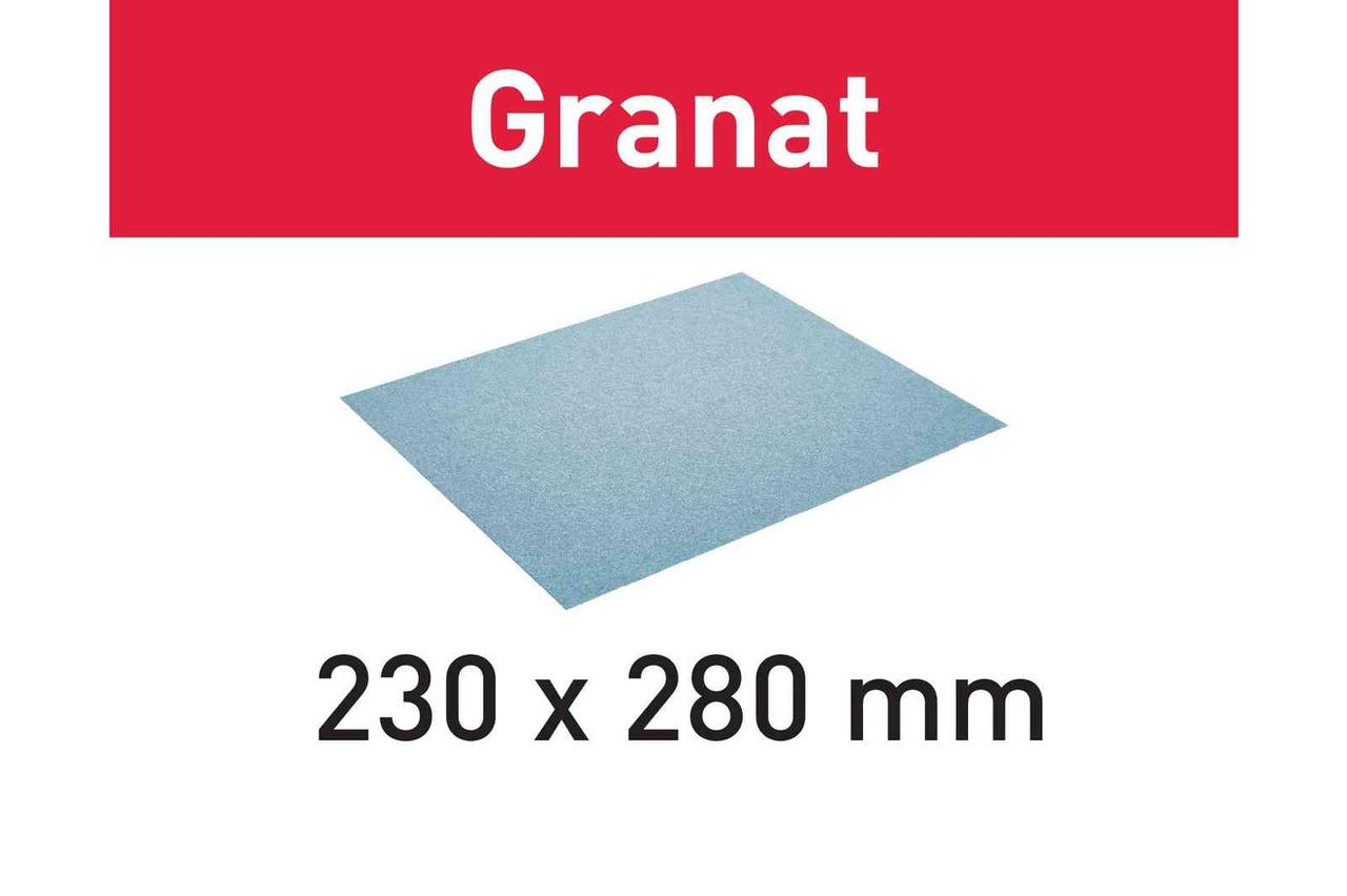 Бумага шлифовальная Granat 230x280 P60 GR/50