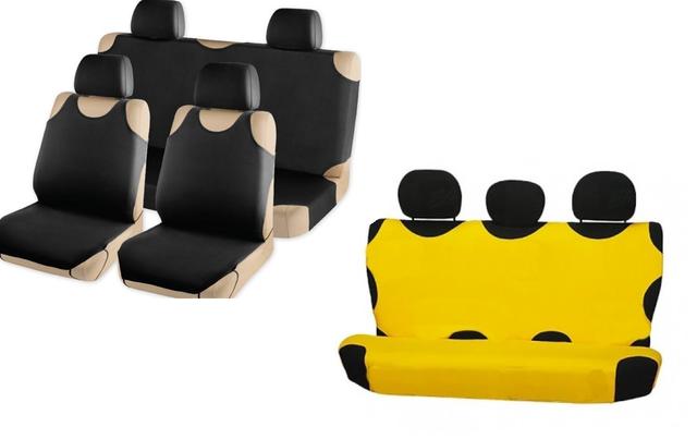 Майки на сиденья передние - задние - полный комплект