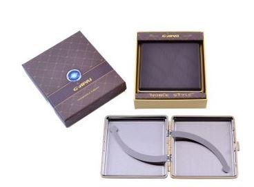 Портсигар в подарочной упаковке GVIPAI (Кожа, на 20 шт) №XT-4986-4
