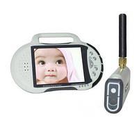 100% цифровой комплект беспроводного видеонаблюдения с LCD приёмником-регистратором с 2.8 дюймовым экраном с д