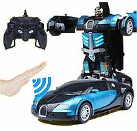 Робот трансформер, Машинка Трансформер, Машина робот на радиоуправлении, Машинка Deformation с пультом