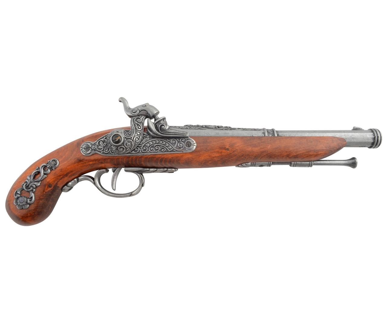 Макет пістолет крем'яний, сталь (Франція, 1872 р.) (DA)