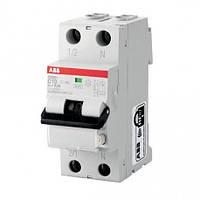 Дифференциальный автоматический выключатель (10A, 30 mA, C, 6 КА, AC) ABB DS201 C10 AC30