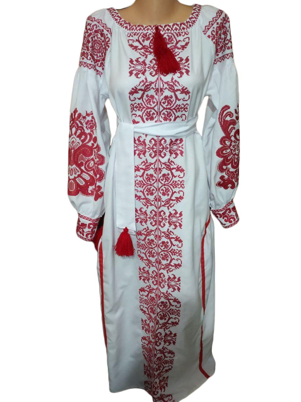 """Женское вышитое платье """"Мелисса"""" PT-0007"""