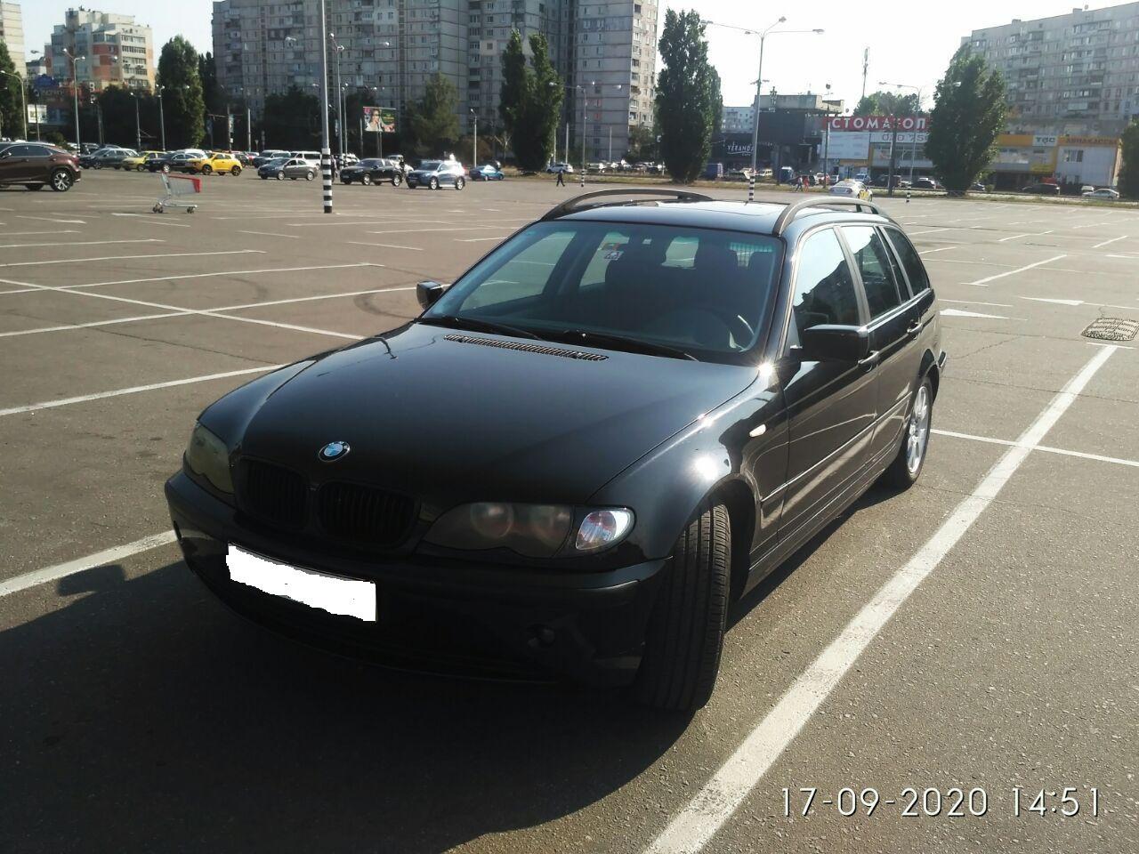 BMW 316i 2003г 1800см Универсал из Германии Укр. учет