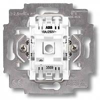 Механизм выключателя 1-кл. кнопочный с N клеммой ABB Elektro-Praha (3559-A91445)