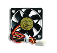 Вентилятор gembird d50bm-12as 50x50x10мм с шарикоподшипником 12В 250мм кабель