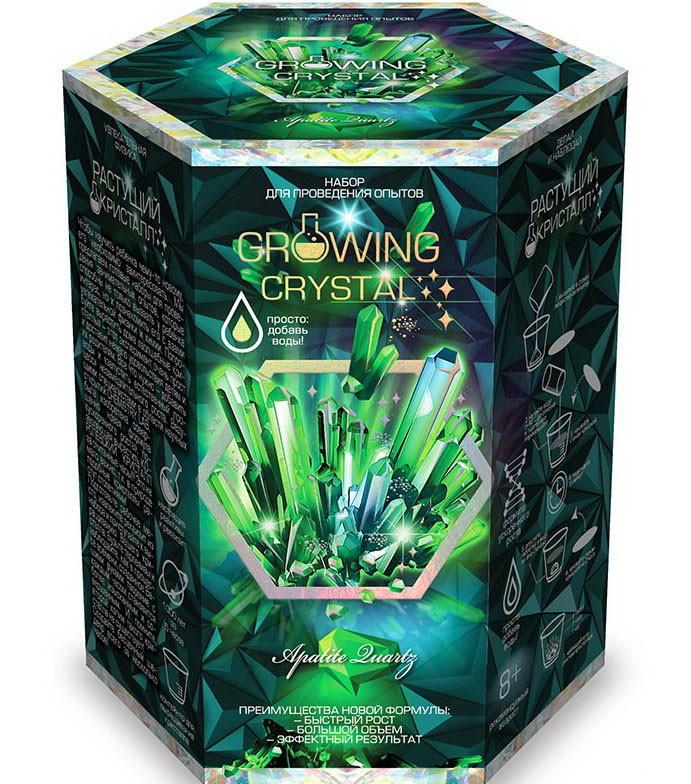 Набор для проведения опытов Растущий кристалл Danko Toys GRK-01