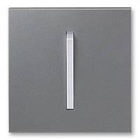 Клавиша 1-ная сталь/титан ABB Elektro-Praha Neo (3559M-A00651 73)