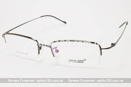 Тонка легка оправа для окулярів. В чорному кольорі, фото 2
