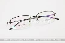 Тонка легка оправа для окулярів. В чорному кольорі, фото 3
