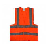 Жилет Technics 16-631 сигнальный оранжевый