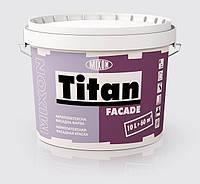 Фасадная акриловая краска атмосферостойкая Mixon Titan Facade 10л белая матовая