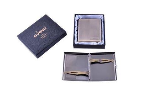 Портсигар в подарочной упаковке GVIPAI (20 шт) №XT-4982-1