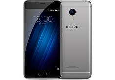 Смартфон Meizu m3s 16Gb Gray Stock B-