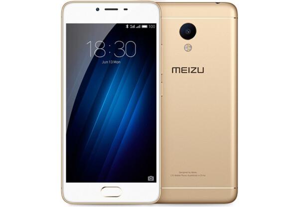 Смартфон Meizu m3s 16Gb Gold Stock B-
