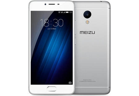 Смартфон Meizu m3s 16Gb Silver Stock А-, фото 2