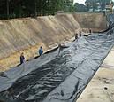 Пленка полиэтиленовая черная 150мкм, 6х50 для мульчирования, строительная, фото 2