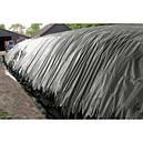 Пленка полиэтиленовая черная 150мкм, 6х50 для мульчирования, строительная, фото 5
