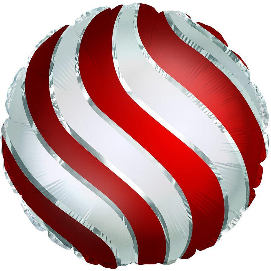 """CTI 18"""" Christmas Ornament. Фольгированный шар фигура Новогодняя игрушка"""