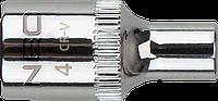 """Головка шестигранная 1/4"""" 12мм NEO Tools 08-230"""