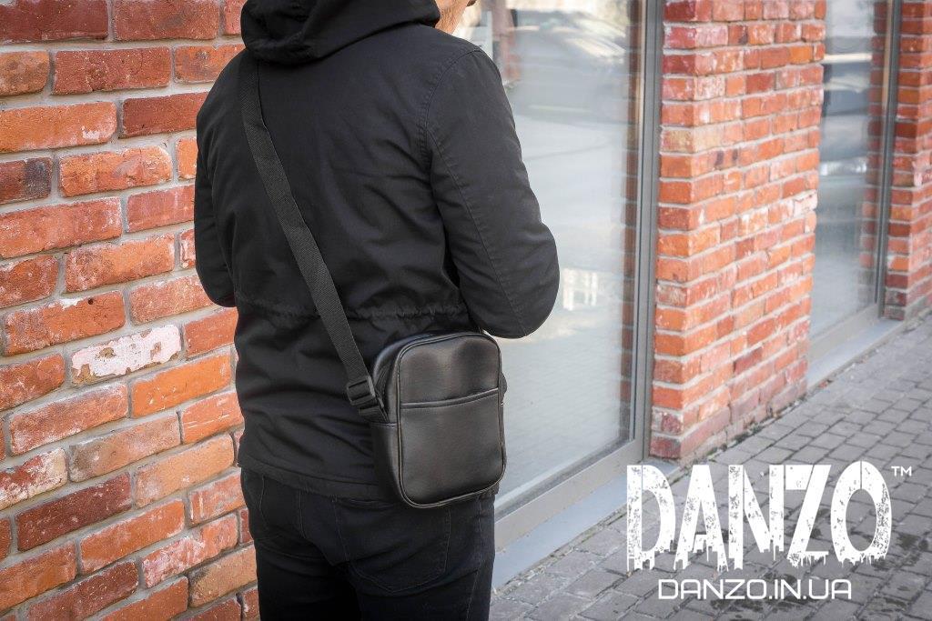 Мужская сумка через плечо мессенджер Urban размер L