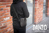 Мужская сумка через плечо мессенджер Urban размер L, фото 1