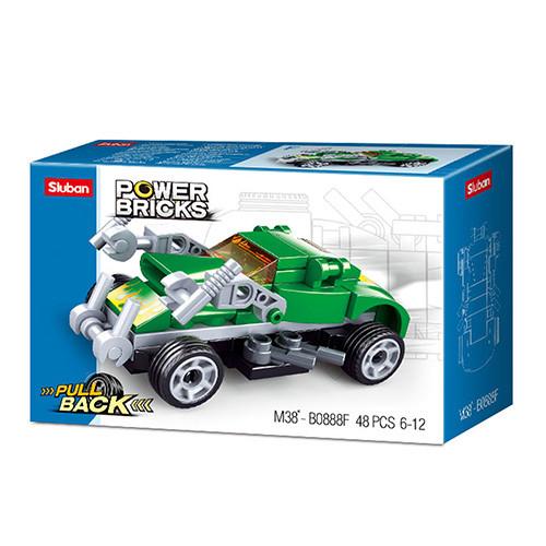 """Конструктор SLUBAN M38-B0888F """"Power Bricks"""", 48 деталей"""