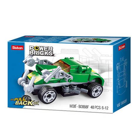 """Конструктор SLUBAN M38-B0888F """"Power Bricks"""", 48 деталей, фото 2"""