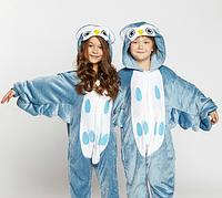 Пижама кигуруми для детей Сова Funny Mood