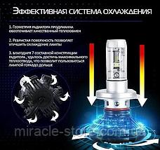 Світлодіодні LED лампи X3 H11 для автомобіля, фото 3