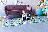 """Детский термо коврик складной развивающий """"Подводный мир + Сафари"""" 200х180 см +сумка-чехол, фото 8"""